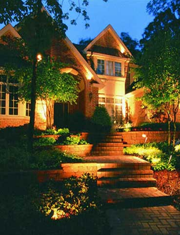 Granite Bay Landscape Lighting - Elegant Outdoor Lighting